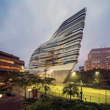 Jockey Club Innovation Tower - Zaha Hadid Architects