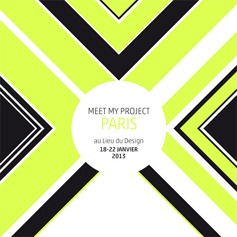 affiche Meet my project 2013