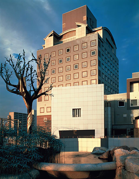 Tsukaba Center Building, photo courtesy of Yasuhiro Ishimoto
