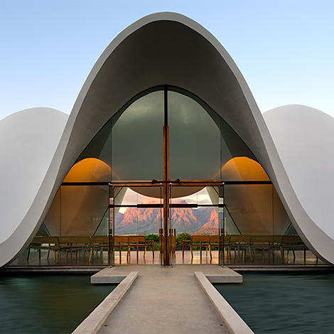 Bosjes chapel en afrique du sud office et culture for Architecture africaine