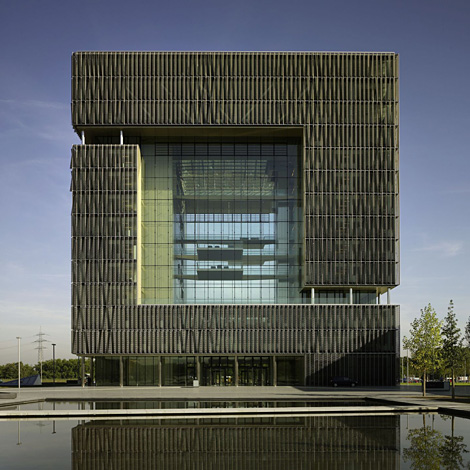 Le si ge de thyssengroup office et culture for Architecture symbolique
