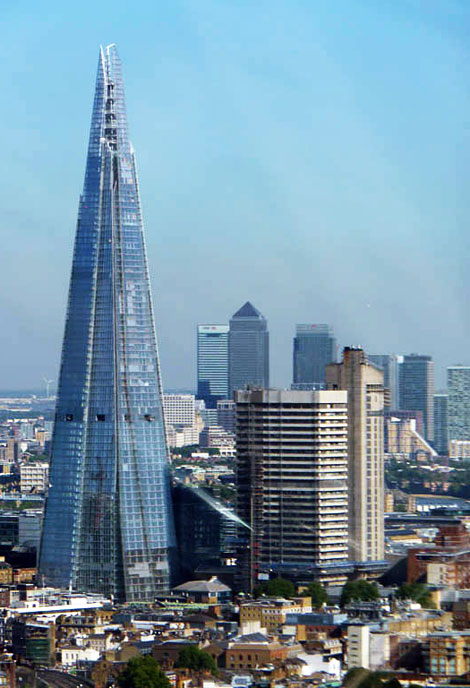 the shard la nouvelle ic ne du paysage londonien