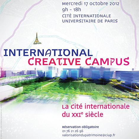 Affiche international creative campus