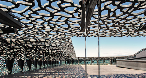 Le mucem au j4 une pop e technique office et culture for 667 haute culture